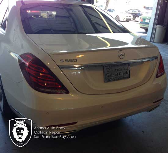 mercedes-S550-collision-repair gallery-image-1