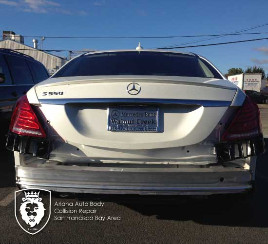 mercedes-S550-collision-repair gallery-image-2
