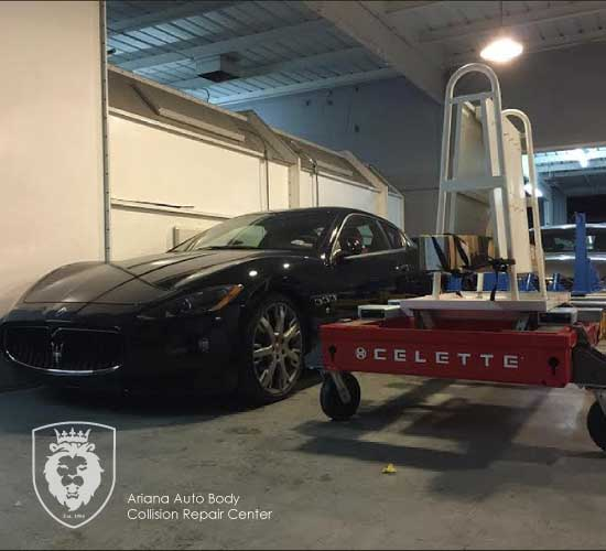 the celette frame - ariana auto body
